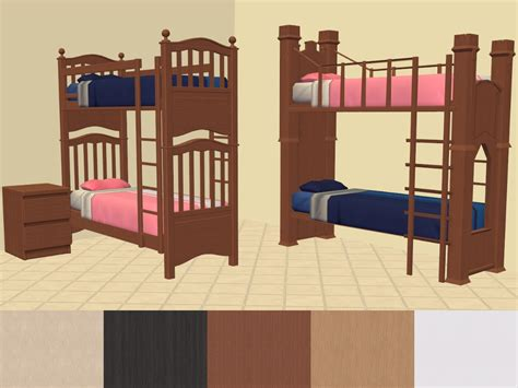 Sims 2 Bunk Beds Mod The Sims Shaundak S Ts3 Ts2 Converted Bunk Beds Malm Colours