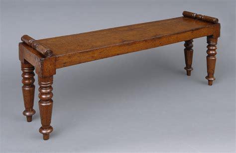 antique hall bench antique english miniature hall bench circa 1830