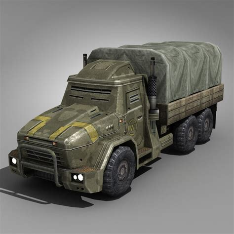future armored truck 3d max