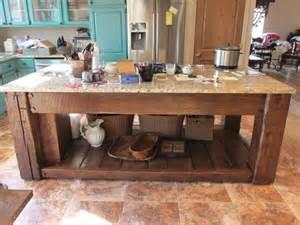 reclaimed kitchen island reclaimed barn wood kitchen island things repurposed