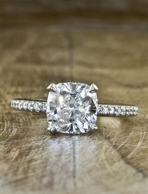 best 25 solitaire cushion cut ideas on 3