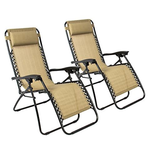 Patio Chair Set Of 2 Best Choice Products Zero Gravity Chair Set Of 2