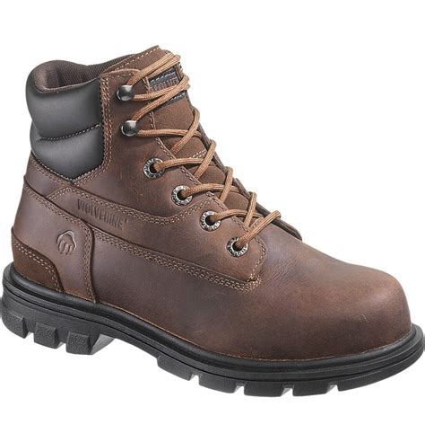 wolverine boots womens wolverine womens 6 inch steel toe work boot w10029