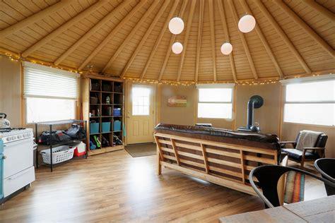 Wood Yurt Home Plans