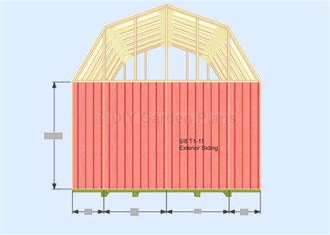 Free Gambrel Shed Plans With Loft by Best Gambrel Barn Plans Studio Design Gallery Best