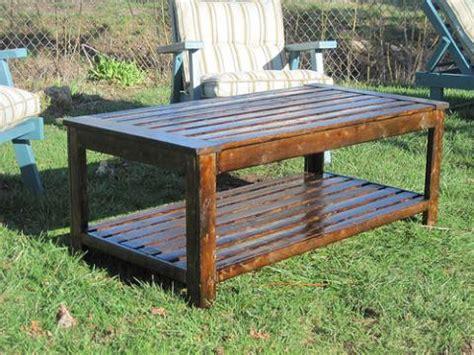 Diy Patio Coffee Table Pdf Diy Outdoor Wooden Coffee Table Plans Outdoor Furniture Woodworking Projects