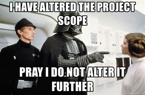 Meme Generator Darth Vader - i have altered the project scope pray i do not alter it