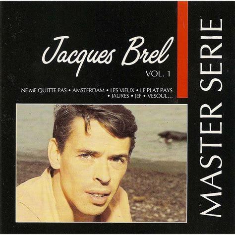 Master Vol 6 1 master serie vol 1 de jacques brel cd chez pycvinyl