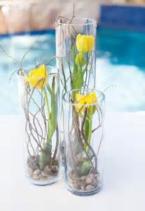Cylinder Vase Centerpiece Ideas Diy Tutorial Tulip Amp Curly Willow Centerpieces Hostess
