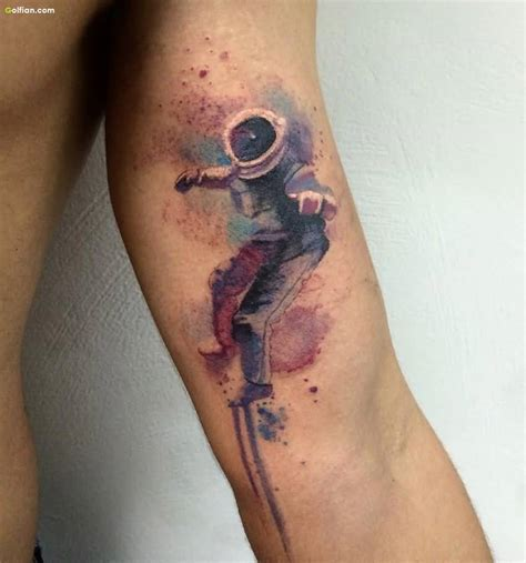 spaceman tattoo 50 awesome arm designs best sleeve