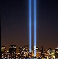 nyc lights 9 11 quot tribute in lights quot memorial 2005