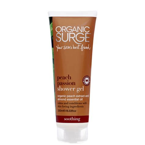 Organic Shower Gel by Organic Surge Shower Gel 250ml Free Delivery
