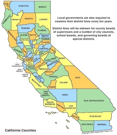 map of congressional districts in california california redistricting issues league of voters