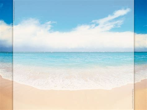 beach backgrounds beach powerpoint templates beach