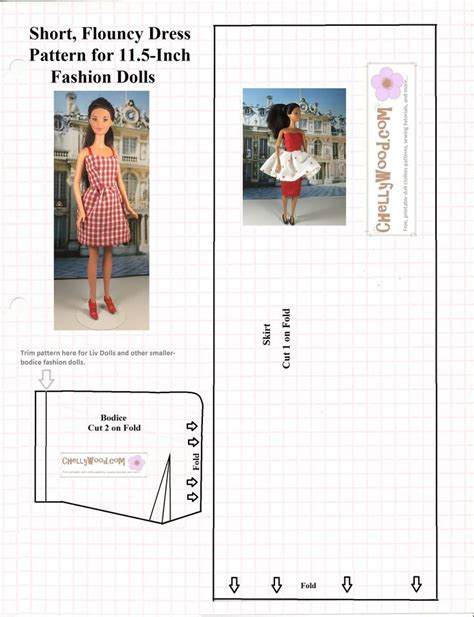 barbie clothes pattern printable 1788 best barbie patterns images on pinterest sewing