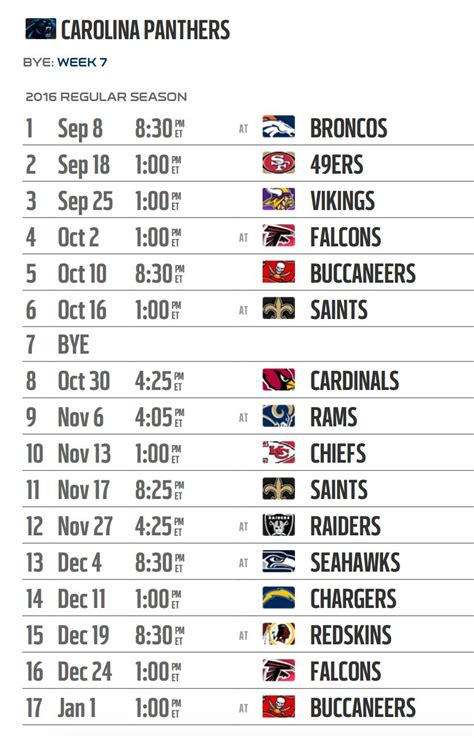panthers schedule 2015 2016 printable calendar template 2016