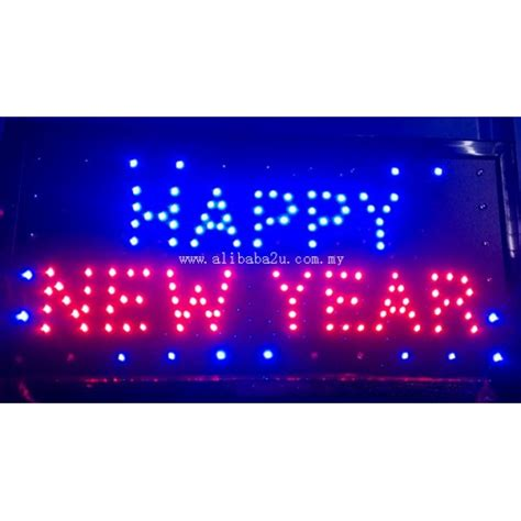 new year signs images led sign board happy new year