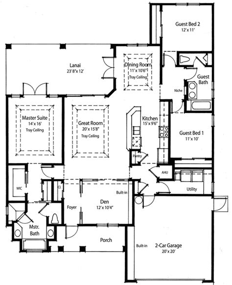 House Plans Kitchen In Front by Kitchen At Front Of House Plans Home Design And Decor