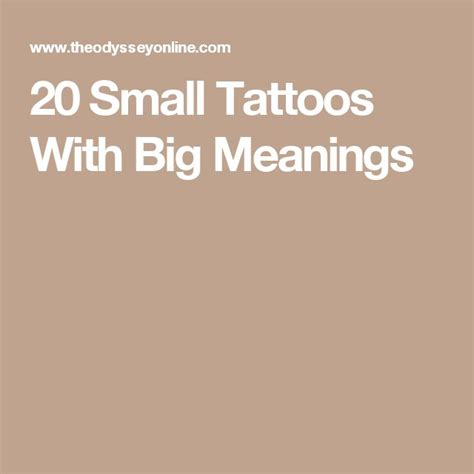 small tattoos with big meanings geometric 20 small tattoos with big meanings