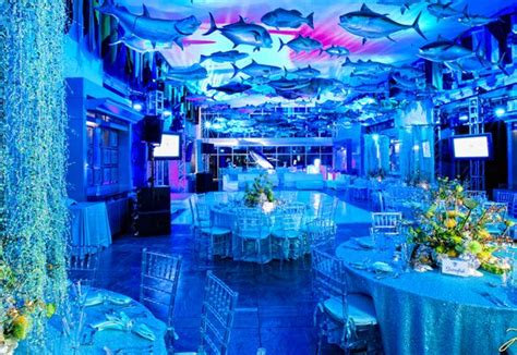 Water Themed Events | an under the water themed bar mitvah or bat mitzvah is a