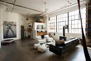 Industrial Style Loft Loft Brooklyn Industrial Interior 04 Trendland