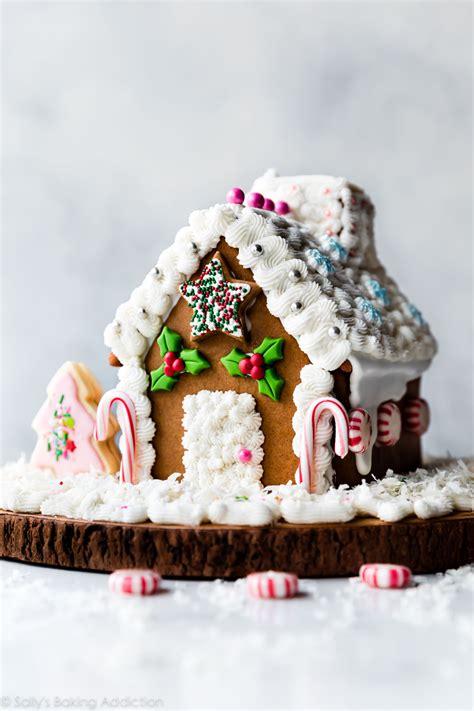 gingerbread house recipe video sallys baking addiction