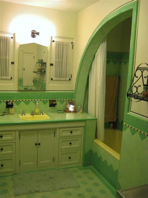 retro green bathroom 36 retro green bathroom tile ideas and pictures