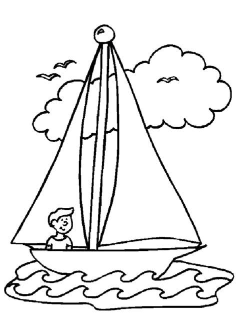dessin facile bateau a voile coloriage vacances bateau 224 voiles hugolescargot