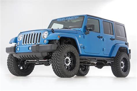 jeep wrangler unlimited rubicon lift kit 3 5in suspension lift kit for 07 17 jeep jk wrangler