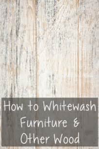 how to whitewash furniture other wood painted