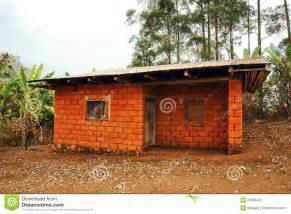 house made of earth bricks royalty free stock