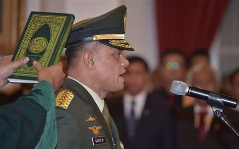general gatot nurmantyo biography indonesia says australia has apologised over offensive