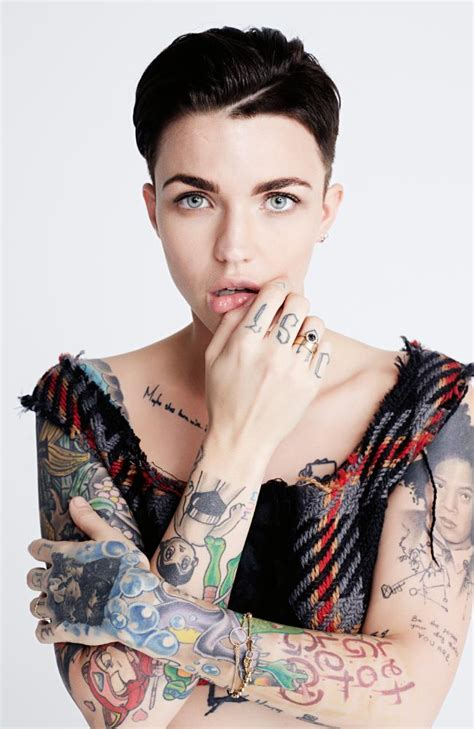 ruby rose is back on tv and she s fired up and excited