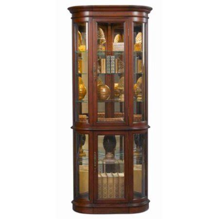 corner curio cabinet walmart curved front corner curio cabinet walmart com