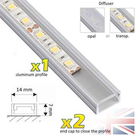 led light diffuser 1 meter aluminium channel for led light cover pvc