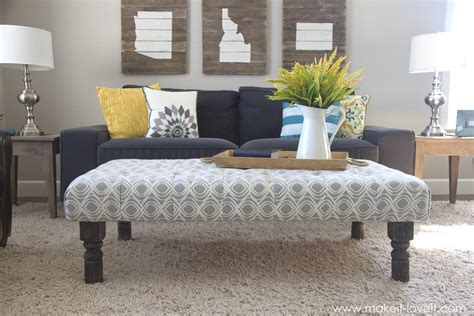 how to make an ottoman coffee tables ideas diy coffee table ottoman design ideas