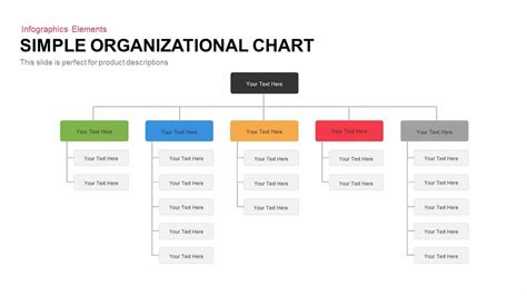 Simple Organizational Chart Powerpoint Template Keynote Slidebazaar Simple Org Chart Template