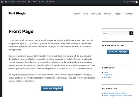 Button Paypal Donation By Excellent Dynamics Codecanyon Paypal Donation Page Template