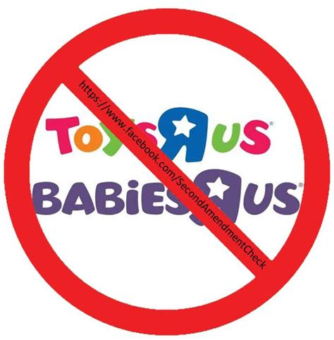 Does Toys R Us Sell Babies R Us Gift Cards - boycott toys r us babies r us second amendment check