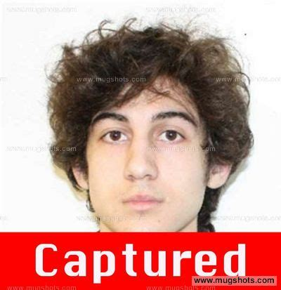 Tsarnaev Criminal Record Dzhokar Tsarnaev Mugshot Dzhokar Tsarnaev Arrest Fbi Most Wanted
