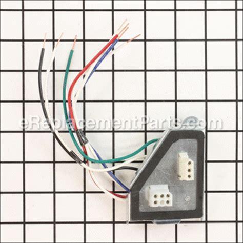 nutone qtn130le1 parts list and diagram