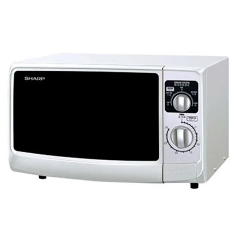 Sharp Microwave Oven R 21a1 W In sharp r219w microwave 22 litre 800w sharp electronic