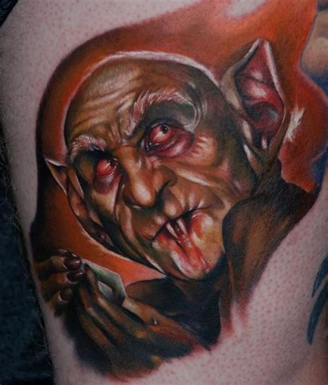 kyle cotterman tattoo nosferatu by kyle cotterman tattoonow