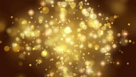 Gold Light Stripe And Particles Loopable Background Stock And Gold Lights