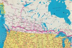 map of trans canada highway transcanada highway map quotes