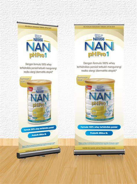 Nestle Nan Ph Pro 3 morning communications nestl 233 nan phpro 1 roll banner