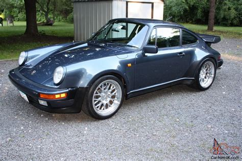porsche 930 turbo blue 1982 porsche 911 930 turbo 400 hp pacific blue color