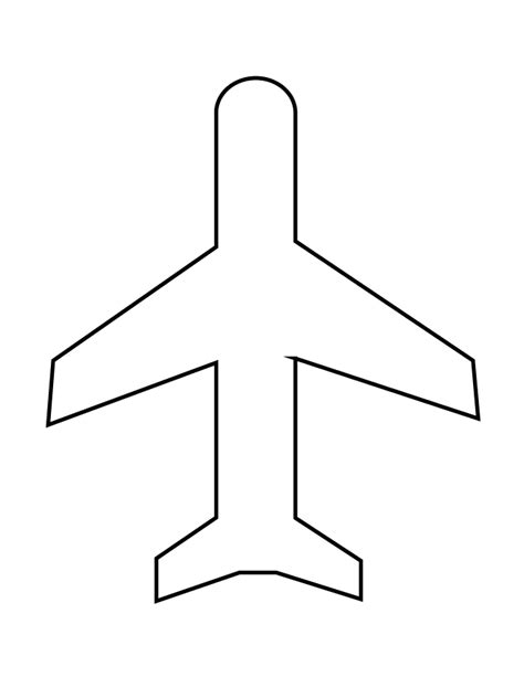 cut out airplane template airplane cut out template outletsonline info