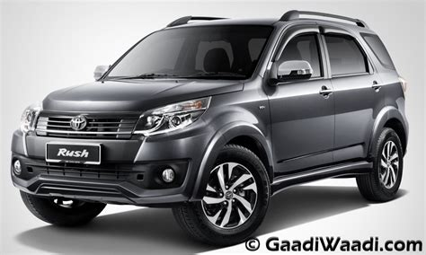 Toyota Suv New Launch In India Toyota Compact Suv India Launch Specs Pics Price