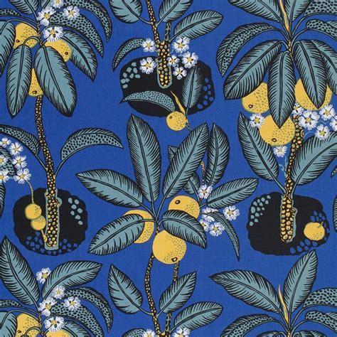 Textile Notturno   Linen 315, Notturno, Josef Frank